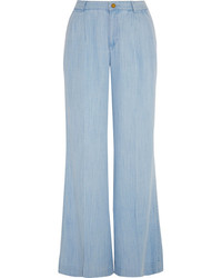 Light blue wide leg pants original 4512771