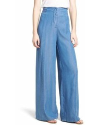 Bishop + Young Bishop And Young O Ring Wide Leg Denim Pants