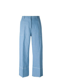 Ermanno Scervino Wide Legged Cropped Trousers