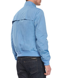 Light Blue Windbreaker Jacket | Outdoor Jacket