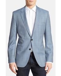 Light Blue Wool Blazer