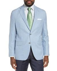 David Donahue Ashton Classic Fit Solid Wool Sport Coat