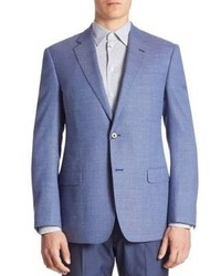 Armani Collezioni Micro Weave Virgin Wool Sportcoat