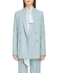 Givenchy Double Breasted Summer Wool Blazer