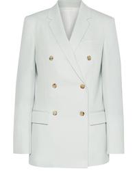 Calvin Klein 205W39nyc Double Breasted Wool Twill Blazer