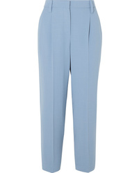 Brunello Cucinelli Cropped Wool Blend Pants