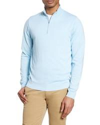 Nordstrom Men's Shop Tech Smart Coolmax Quarter Zip Pullover