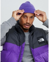 b0f6c3060eae ... ASOS DESIGN Fisherman Beanie In Purple Recycled Polyester