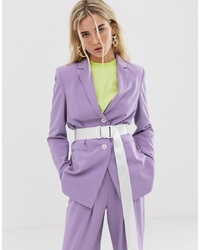 Collusion Oversized Blazer With Belt
