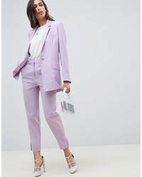 ASOS DESIGN Tailored Lilac Occasion Blazer