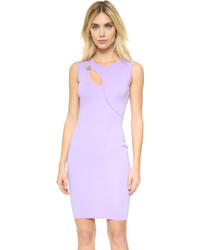 Light Violet Bodycon Dress