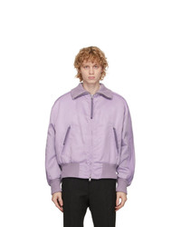 BOSS Purple Nylon Exit Jacket
