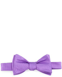 Ted Baker Solid Twill Bow Tie Purple