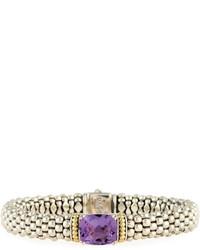 Lagos Prism Amethyst Rope Bracelet