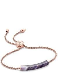 Linear semiprecious stone friendship bracelet medium 4470906
