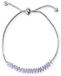 Toggle jagged edge crystal bracelet medium 3698100