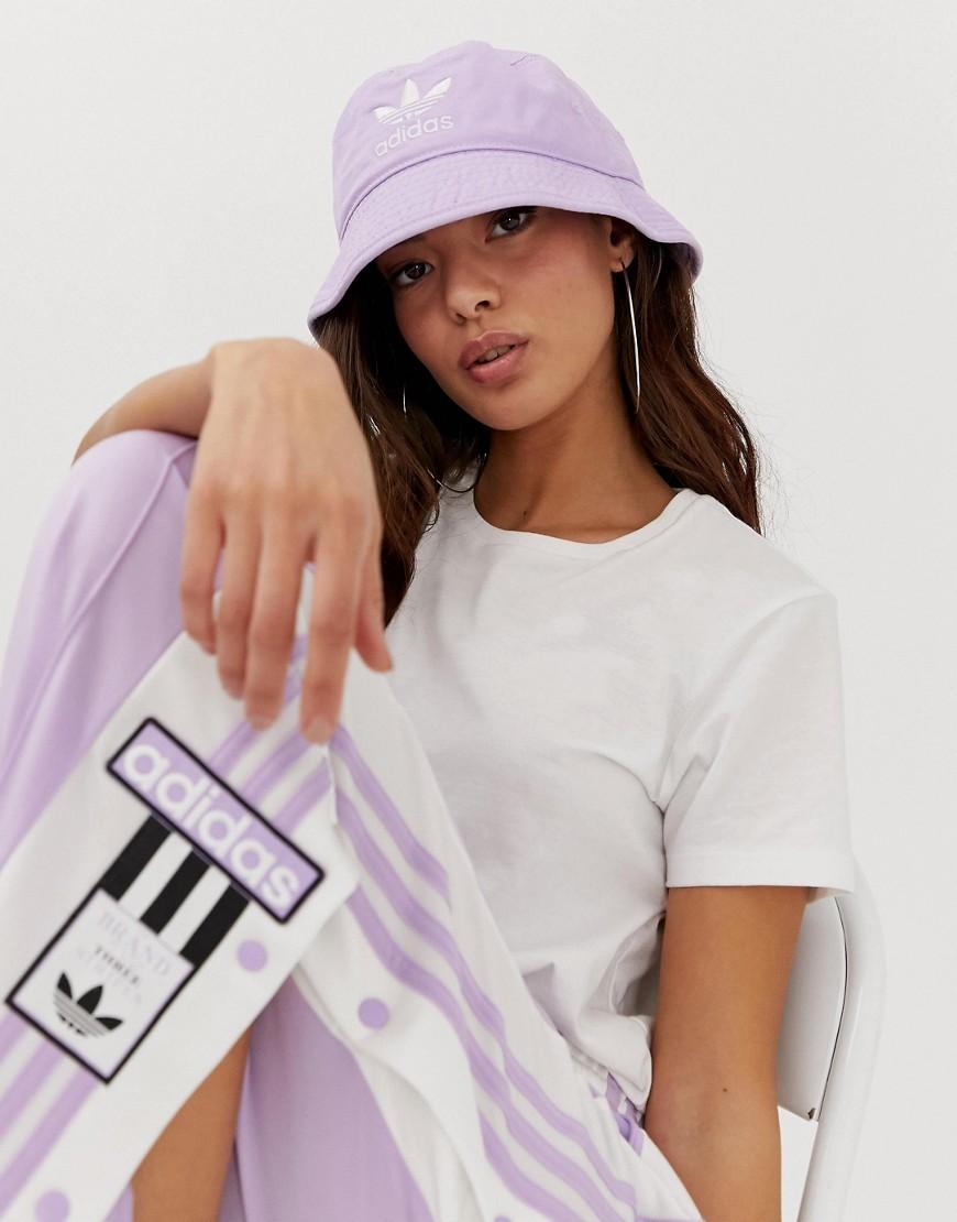 Kris Fluffy Lilac Bucket Hat