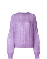 Lightweight knitted sweater medium 8621634