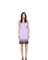 Marc Jacobs Purple The Liz Slip Dress