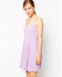 Asos Collection Cami Mini Pleated Dress