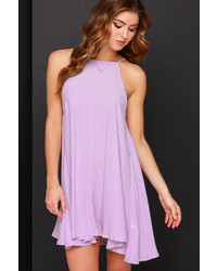 MinkPink Mink Pink Apron Lavender Swing Dress