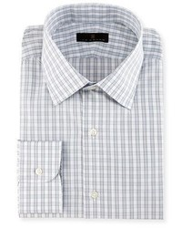 Gold label check dress shirt medium 1194730