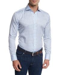 Terrace check sport shirt lilac medium 949489