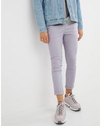 5222412cb024 Light Violet Chinos for Men   Men's Fashion   Lookastic.com