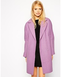 Asos Collection Coat With Drop Shoulder