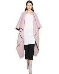 Chloé Double Alpaca Wool Blend Coat