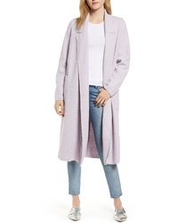 Sosken Heidi Ribbed Brushed Knit Coat