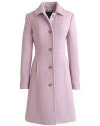 Italian double cloth wool lady day coat with thinsulate medium 110707