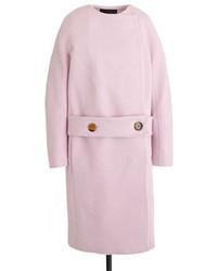 J.Crew Collection Drop Waist Collarless Coat