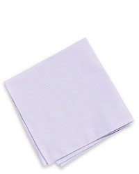 Hugo boss pocket square solid cotton one size white medium 29101