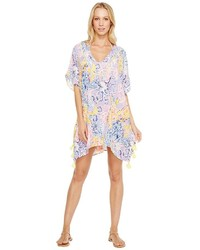 Lilly Pulitzer El Bravo Way Cover Up Tunic Blouse