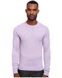 Light Violet Crew-neck Sweater