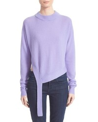 Light Violet Crew-neck Sweater