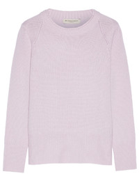 c1c0b9722b7 Women s Light Violet Crew-neck Sweaters by Burberry