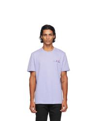 A.P.C. Blue David T Shirt