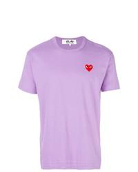 Comme Des Garcons Play Comme Des Garons Play Short Sleeve Logo T Shirt