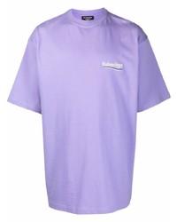 Balenciaga Political Campaign Logo Print T Shirt