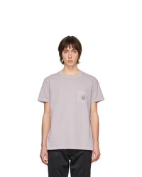 Schnaydermans Purple Gart Dyed Jersey You Are Here T Shirt