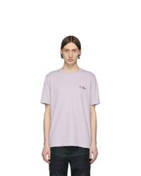 Paul Smith Purple Gents T Shirt
