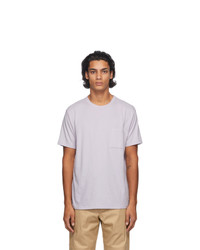 Levis Made and Crafted Purple Pocket T Shirt