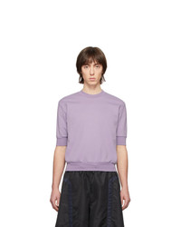 Random Identities Purple Zip Vent Sweatshirt
