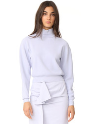 Cropped turtleneck sweater medium 5364316