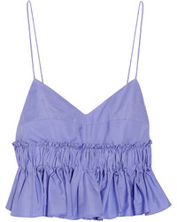 Light Violet Cropped Top