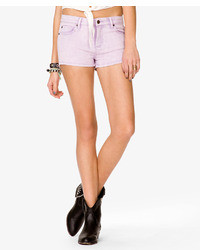 Acid wash denim shorts medium 24896