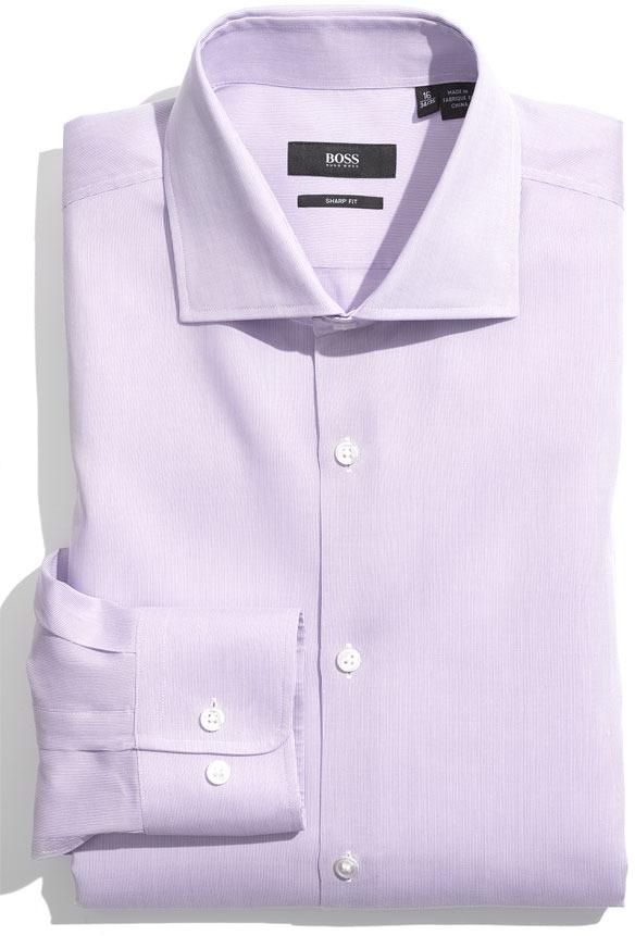 Hugo boss slim fit dress shirt white