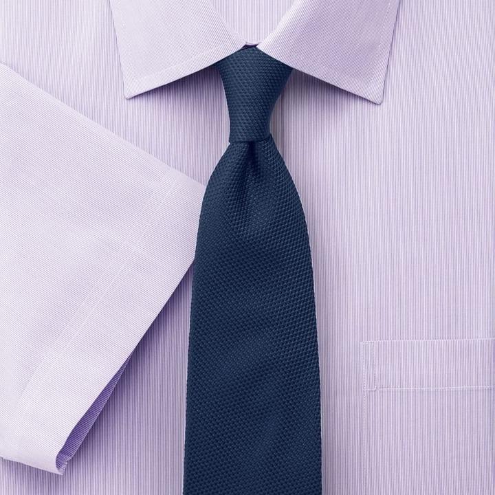 Charles tyrwhitt lilac hairline stripe non iron short for Mens dress shirts charles tyrwhitt